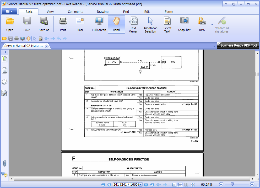split pdf document foxit reader