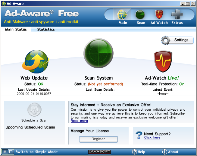 Download Ad-Aware Free | PCWorld: www.pcworld.com/product/946272/ad-aware-free.html